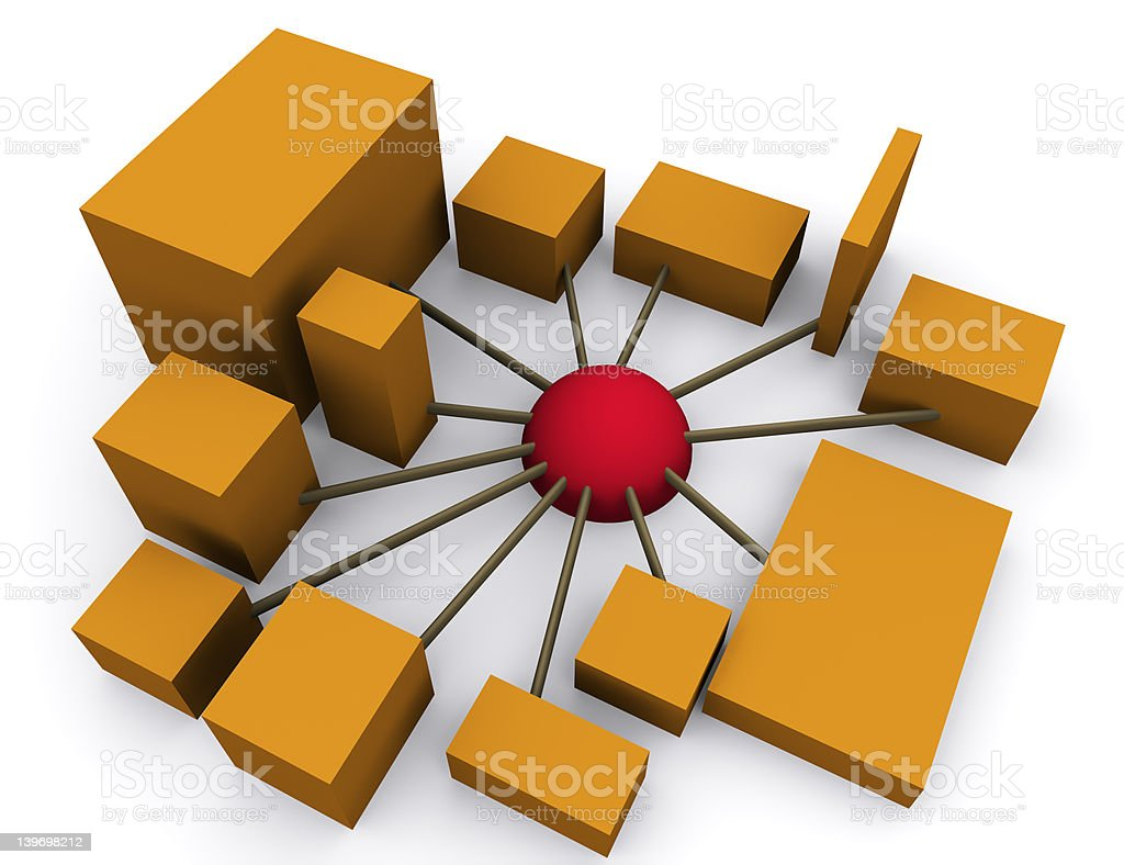 networking 2 royalty-free stock photo