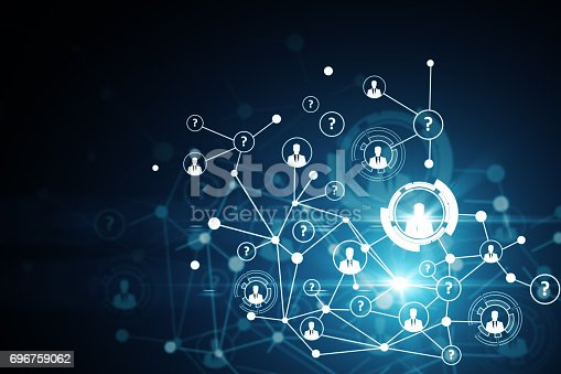 istock Networking concept 696759062