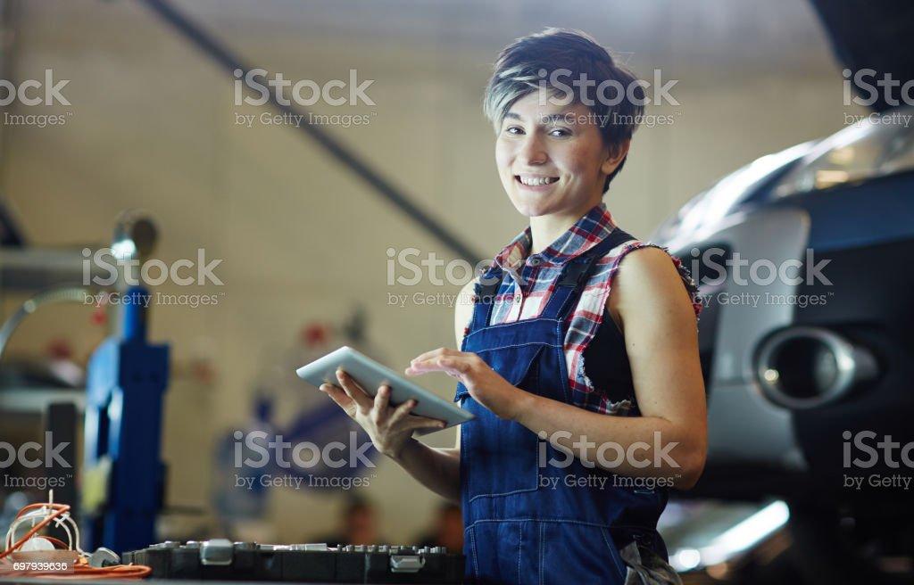 Vernetzung in garage – Foto