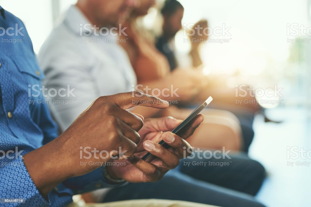 Networking is a form of marketing, let the networking begin stock photo