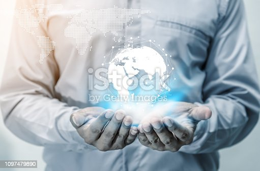 istock Networking people global business concept 1097479890