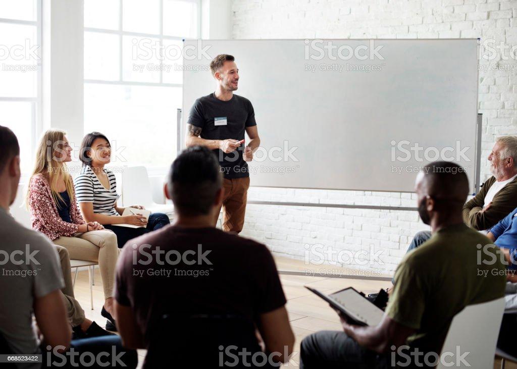 Networking Seminar Meet Ups Concept foto