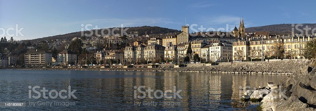 Neuchatel panoranic. stock photo