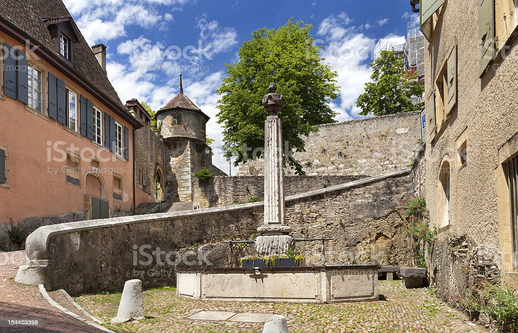 Neuchatel, Switzerland stock photo