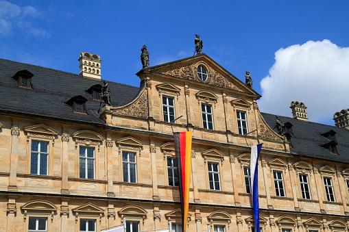 Neue Residenz building in Bamberg