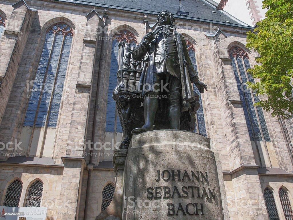 Neues Bach Denkmal stock photo