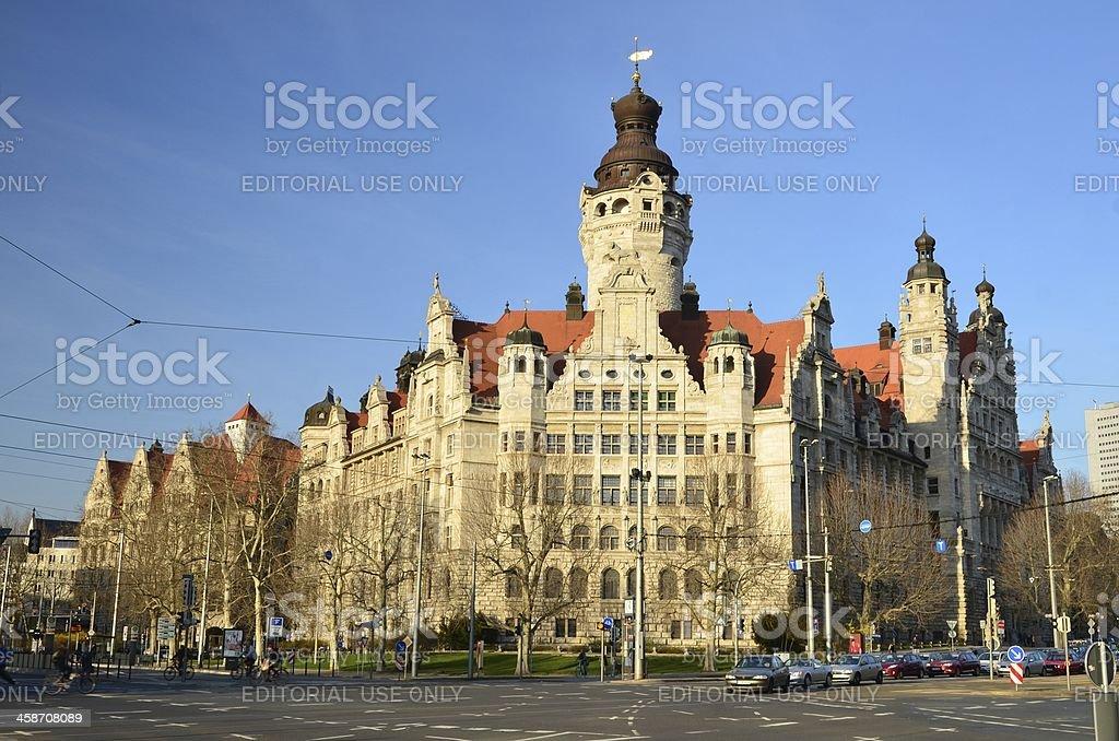 Neues Rathaus Leipzig Germany Stock Photo Download Image Now Istock