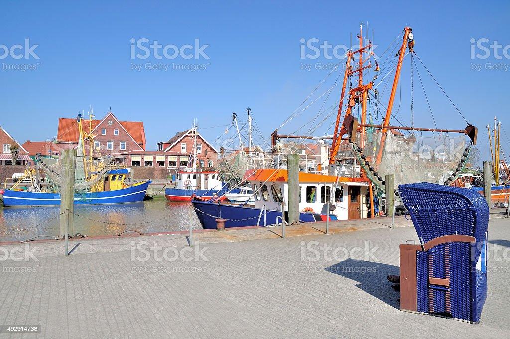Neuharlingersiel,East Frisia,North sea,Germany stock photo