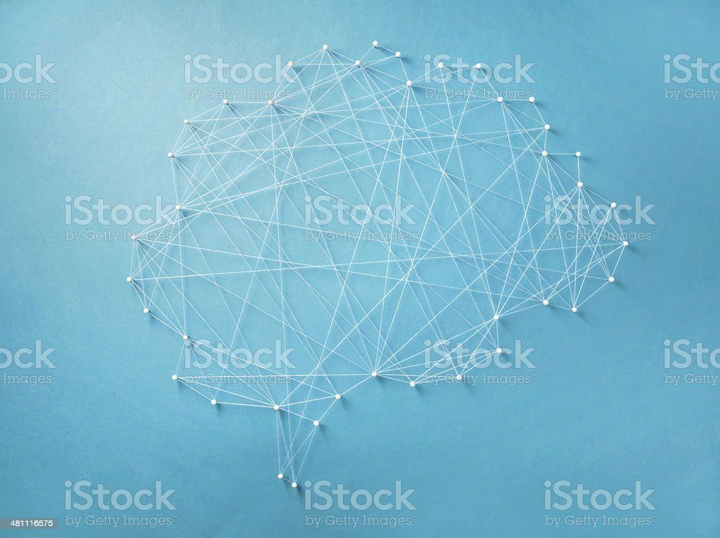 Neural network stock photo