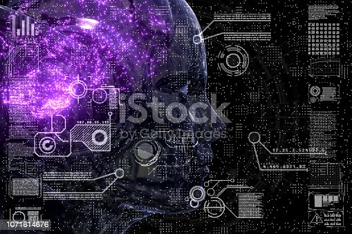 istock Neural Networks Circuitry Close Up 1071614676