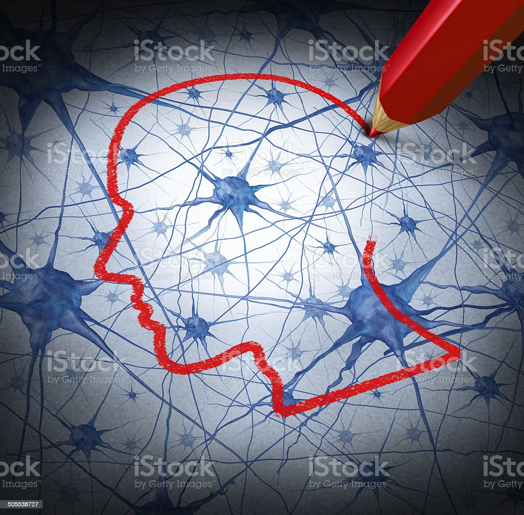 Neurology Research stock photo