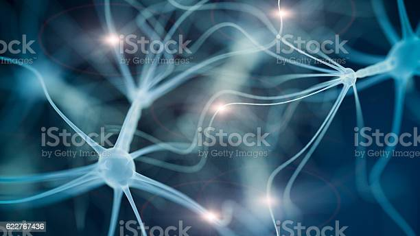 Neuron Cell Network Stock Photo - Download Image Now