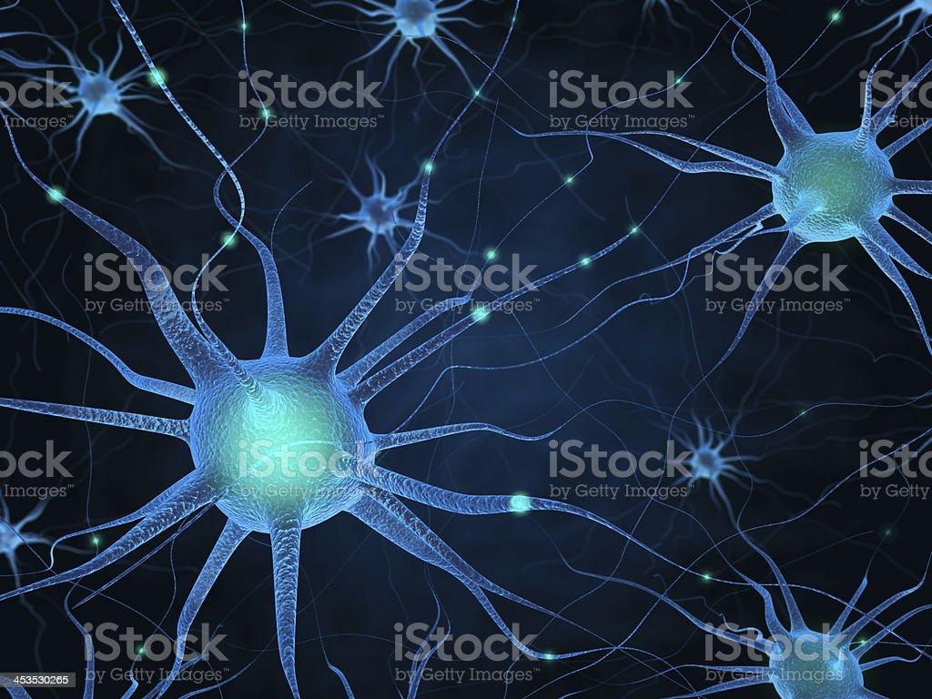 Abstract Neurons Wallpaper