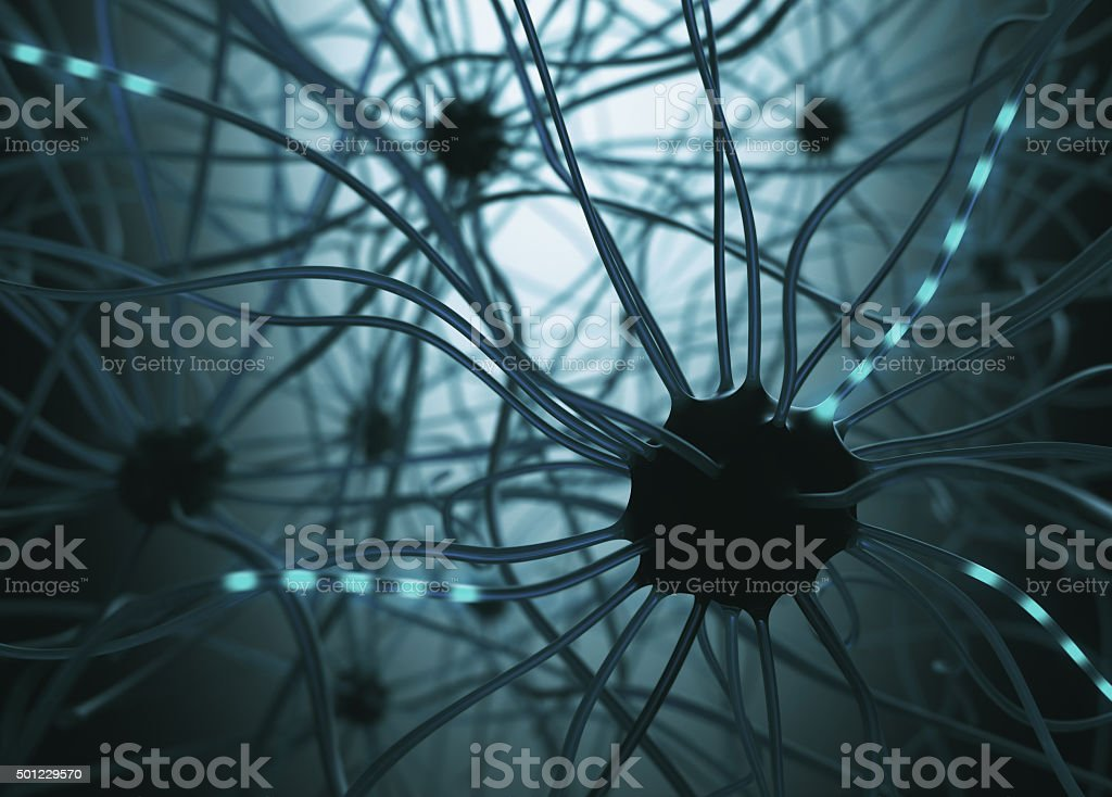 Neurons Concept stock photo