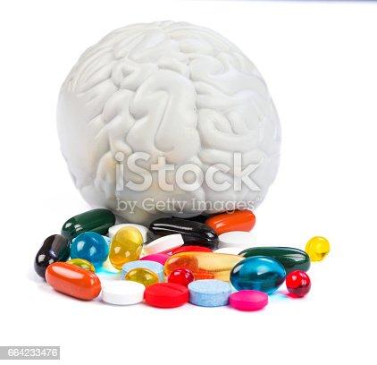 istock Neuropsychiatric roborating pills 664233476