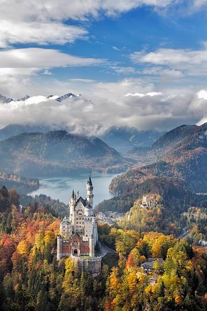 Schloss Neuschwanstein, Deutschland – Foto