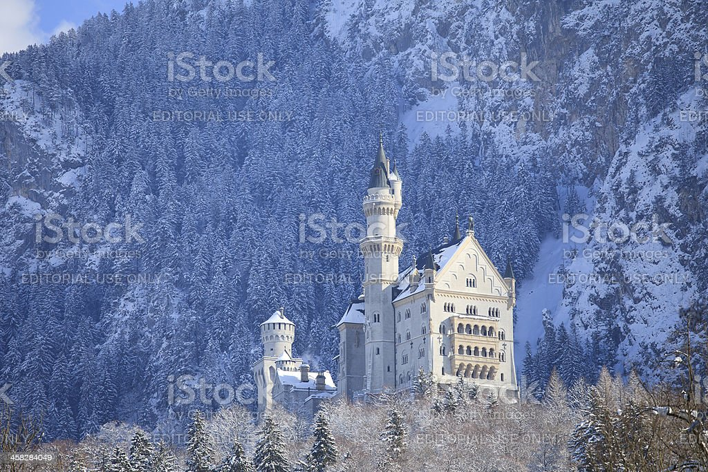 Neuschwanstein castle royalty-free stock photo