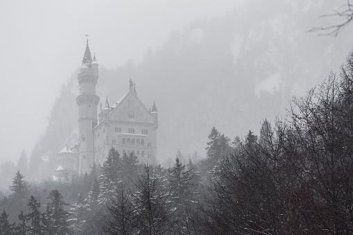 Neuschwanstein castle top
