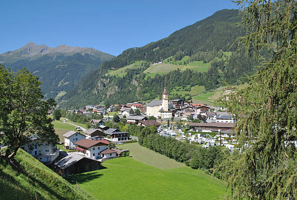 Neustift, Stubaital, Tirol, Österreich – Foto