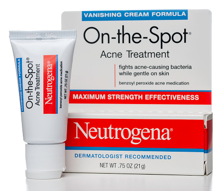 Neutrogena Onthespot Acne Treatment Cream Stock Photo Download