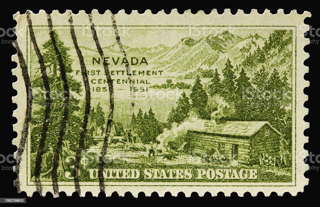 Nevada 1951 stock photo