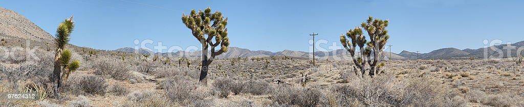 Nevada desert around Las Vegas royalty-free stock photo
