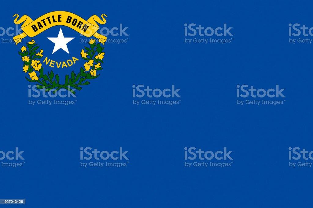 Bandeira do estado de Nevada - foto de acervo