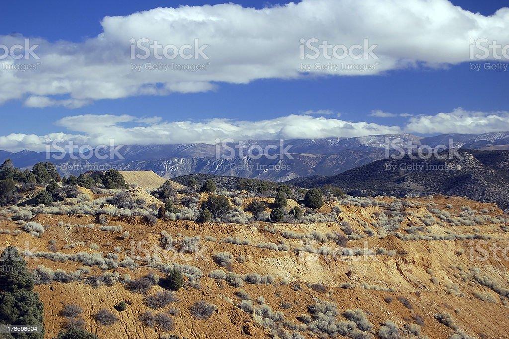 Gran desierto de Nevada - foto de stock