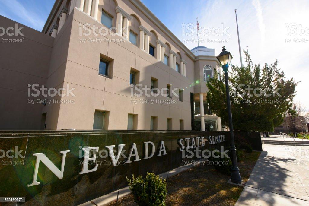 Edifício do estado de Nevada - foto de acervo