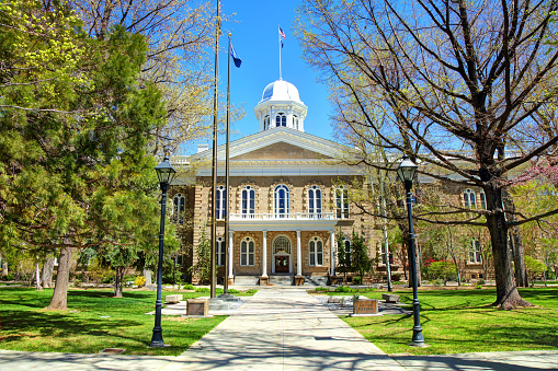 The Nevada State Capitol is the capitol building of the U.S. state of Nevada located in the state capital of Carson City