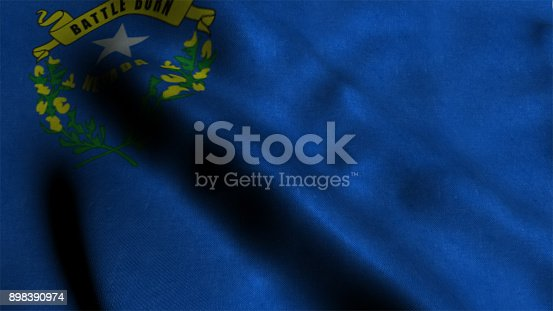 450754061 istock photo Nevada State Flag 898390974