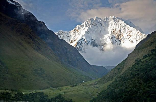 Nevado Salkantay stock photo