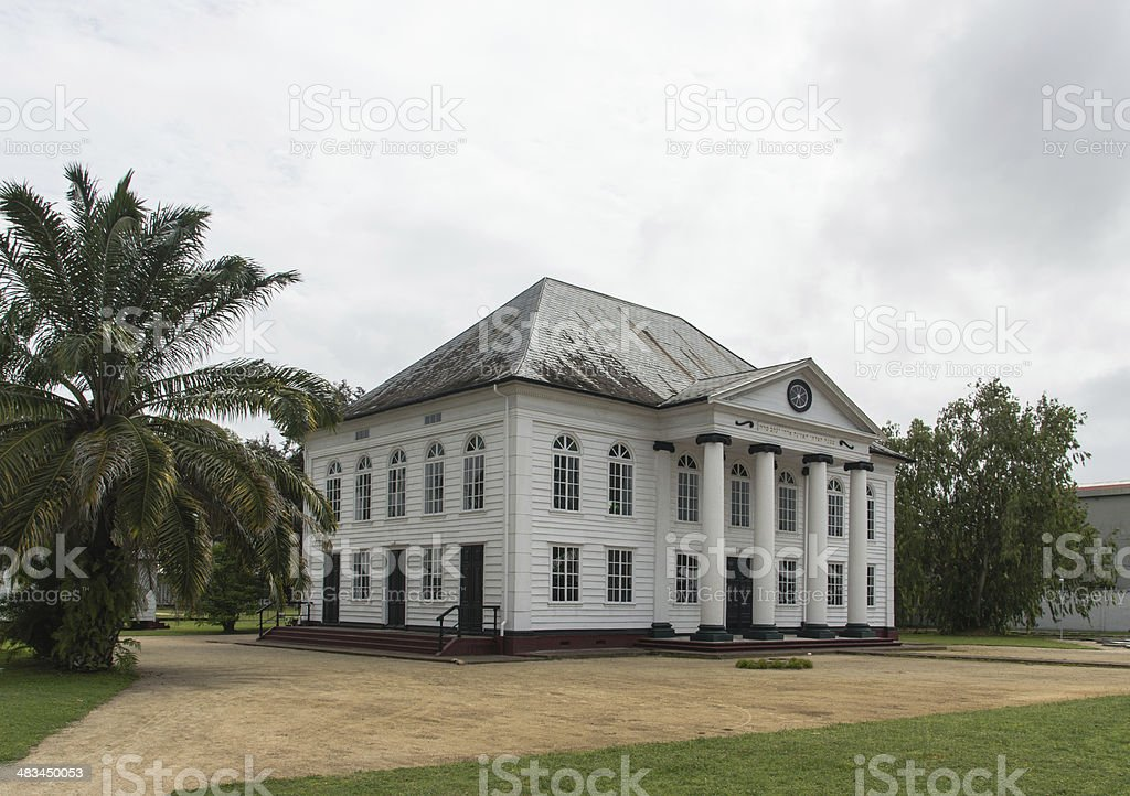 Neve Shalom synagogue Paramaribo stock photo