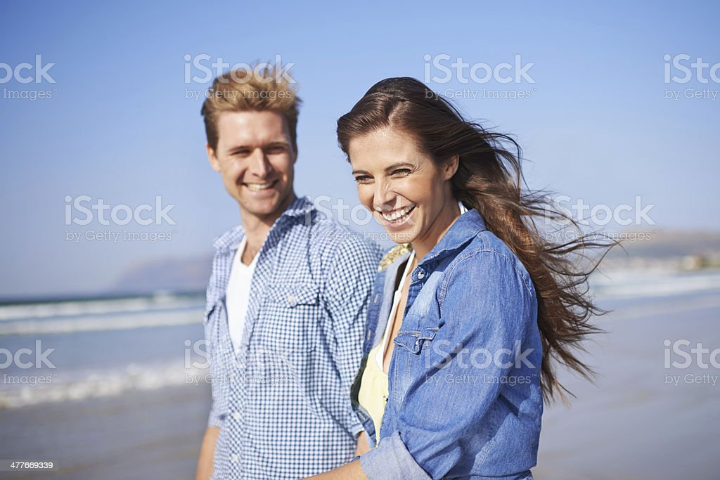 Never a dull moment together stock photo