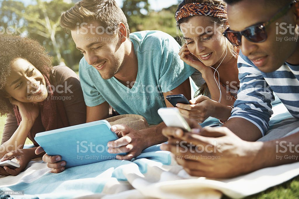 Never far from their toys royalty-free stock photo