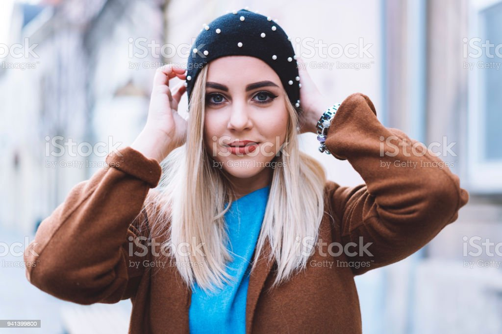 Never forget to smile stock photo