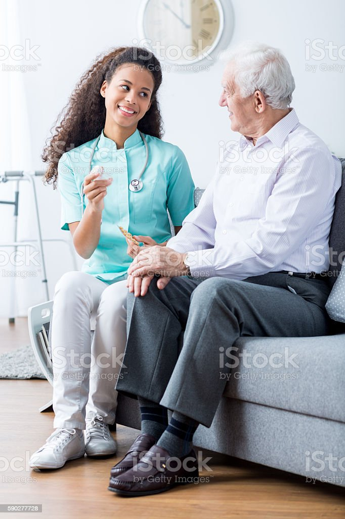 Never forget to take your medicine stock photo