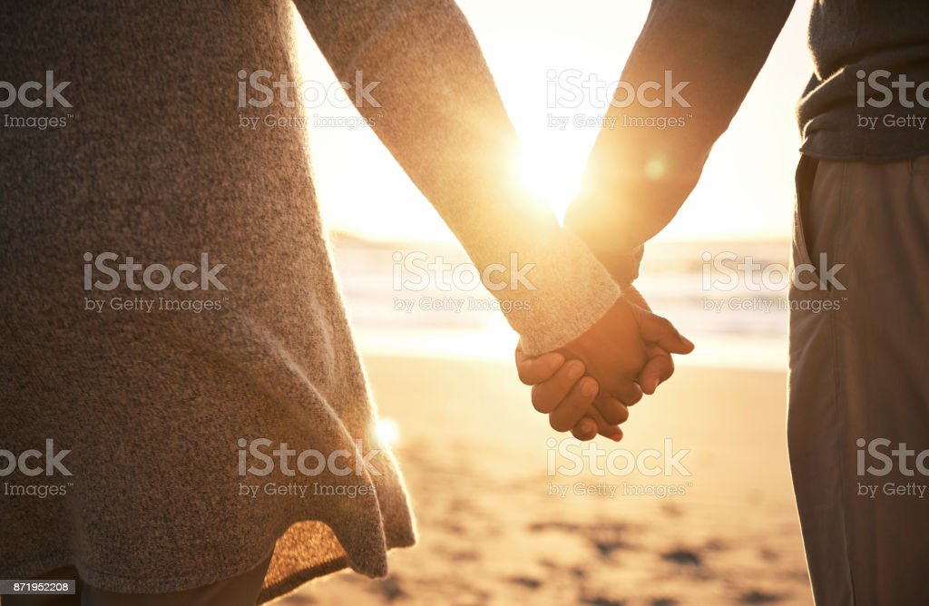 Never let go stock photo