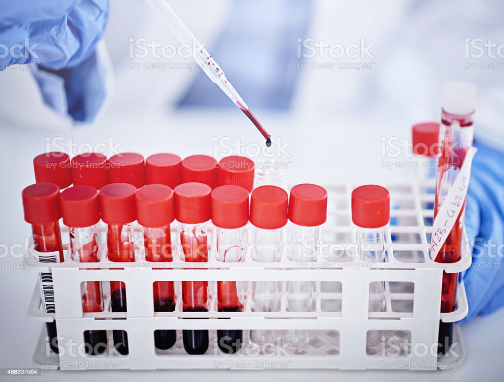 DNA never lies stock photo