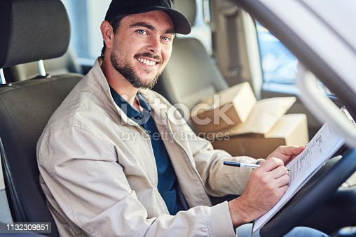 635967404 istock photo I never miss a delivery 1132309851