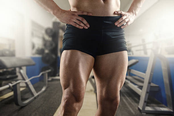 Never Skip Leg Day stock photo