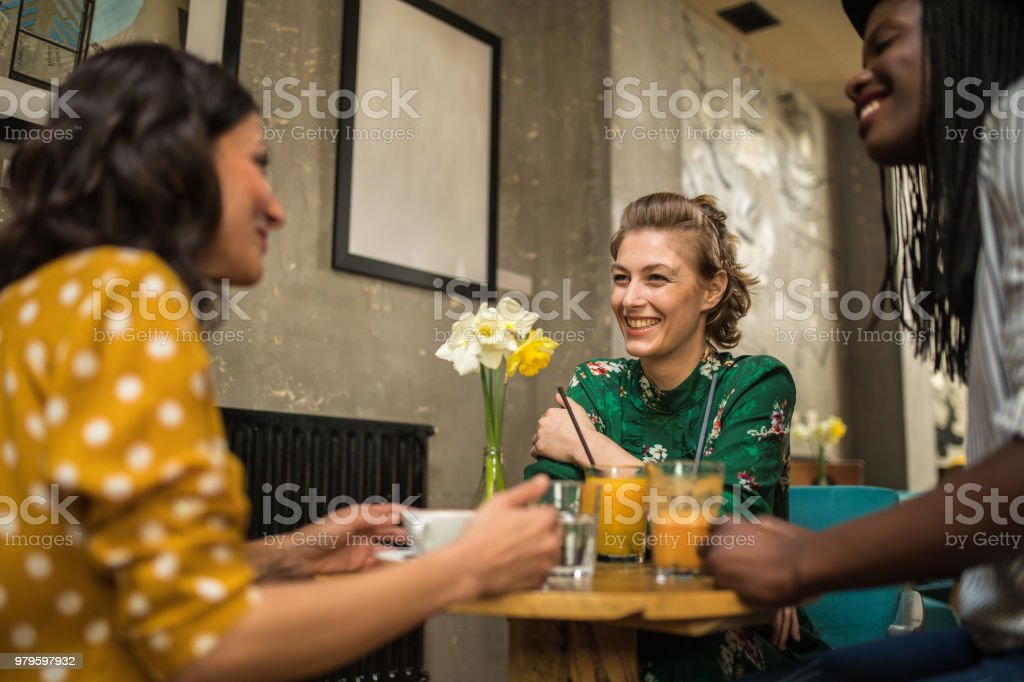 Never stop smiling stock photo