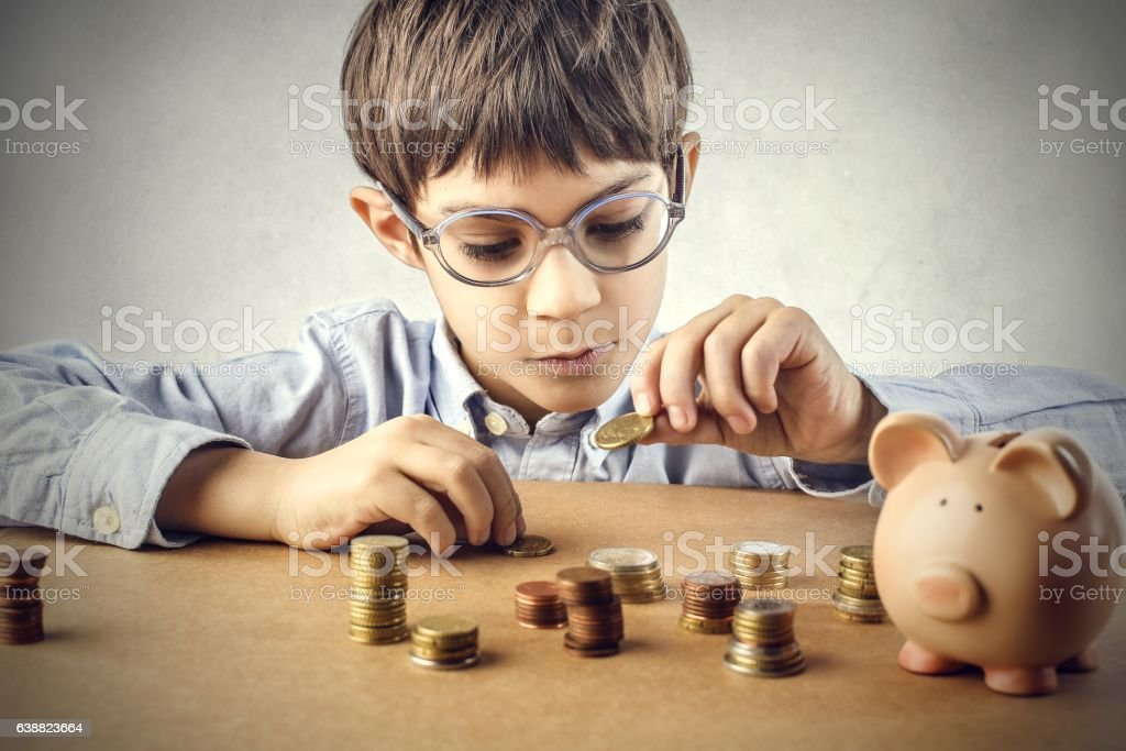 Never too young stock photo