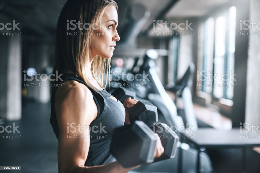 Never underestimate your own strength stock photo