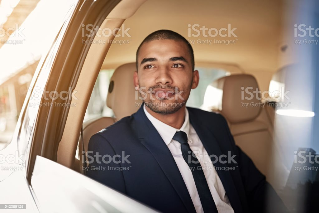 I never worked in the city before stock photo