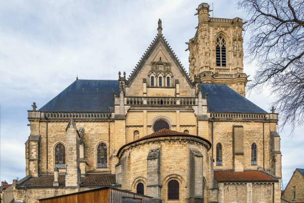 Nevers Cathedral, Frankreich – Foto