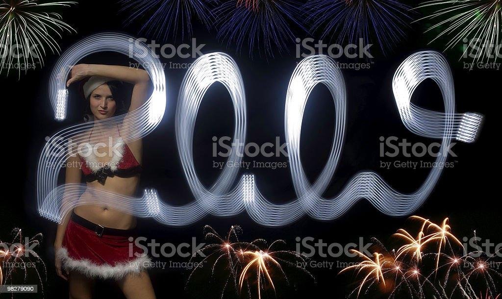 New 2009 year royalty-free stock photo