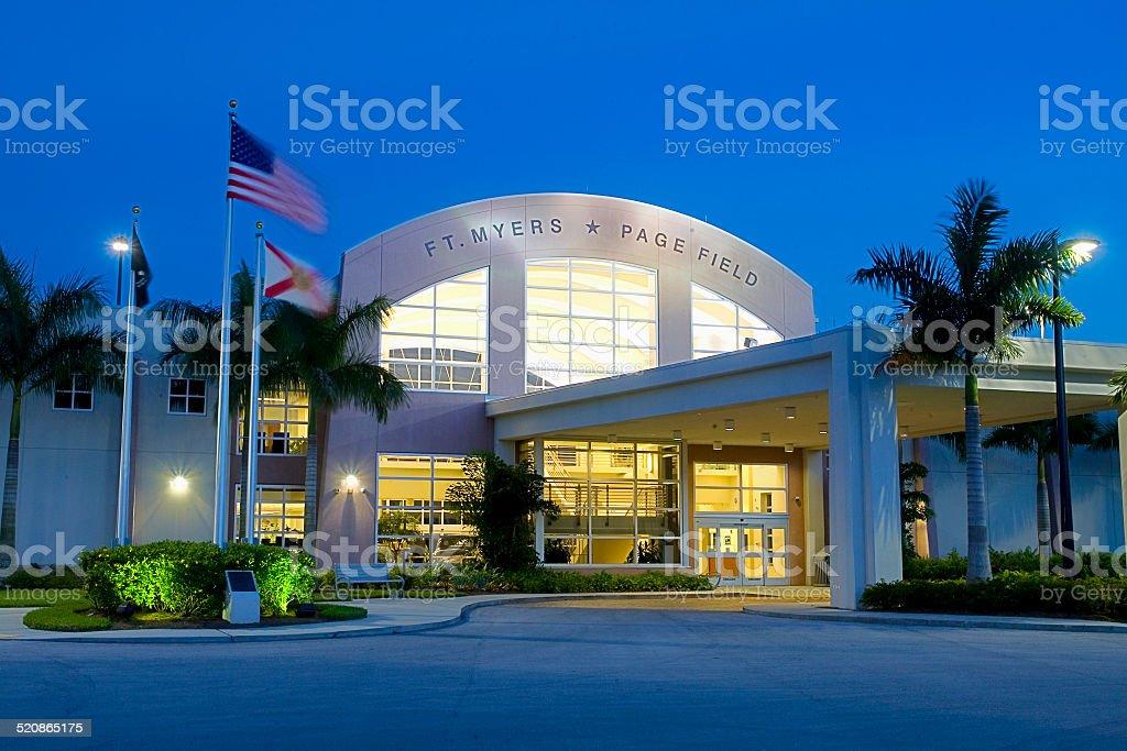 New Airport Terminal stock photo