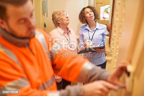 istock new alarm for senior woman 508518538