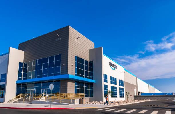 New Amazon fulfillment center in Henderson Nevada USA stock photo